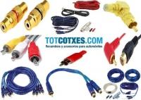 CABLES Y CONECTORES RCA
