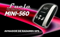 Avisador de Radares GPS LUCLA MINI 560 Chipset MTK - Avisador de Radares GPS LUCLA MINI 560 Chipset MTK 