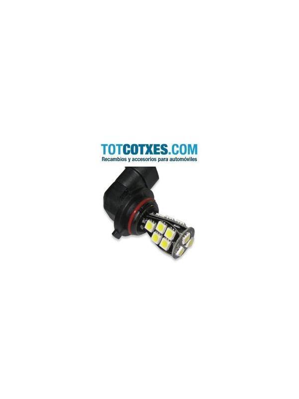 1 bombilla 18 x LED/SMD HB3 9005 White / blanca ( puro blanco ) ref.9005-18-49 - 1 bombilla 18 x LED/SMD ALTA LUMINOSIDAD HB3 9005 White / blanca ( puro blanco ) ref.9005-18-49