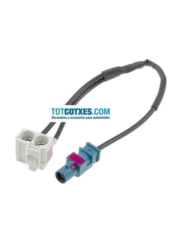 Adaptador Fakra de antena para VW SKODA SEAT y RNS510 ref.ADA-10 - Adaptador Fakra de antena para VW SKODA SEAT y RNS510 ref.ADA-10