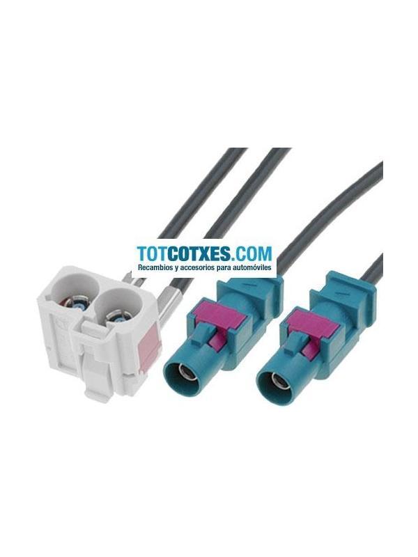Adaptador Fakra de antena para VW SKODA SEAT y RNS510 ref.ADA-20 - Adaptador Fakra de antena para VW SKODA SEAT y RNS510 ref.ADA-20