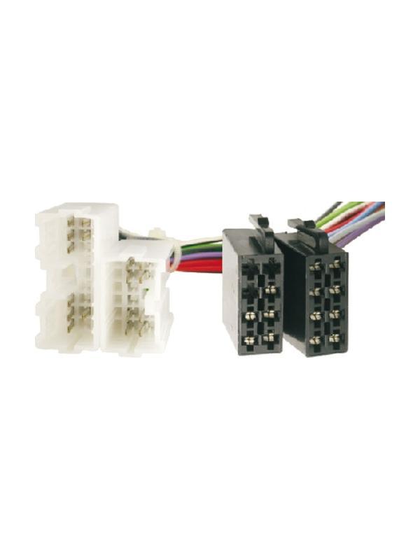 CONECTOR ISO - RADIO VOLVO S/V 40/70 850/960 1993->1996 - CONECTOR ISO - RADIO VOLVO S/V 40/70 850/960 1993->1996