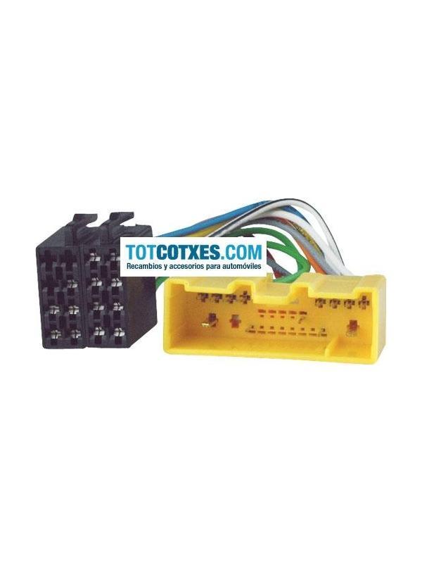 CONECTOR ISO - RADIO  MAZDA 2001->