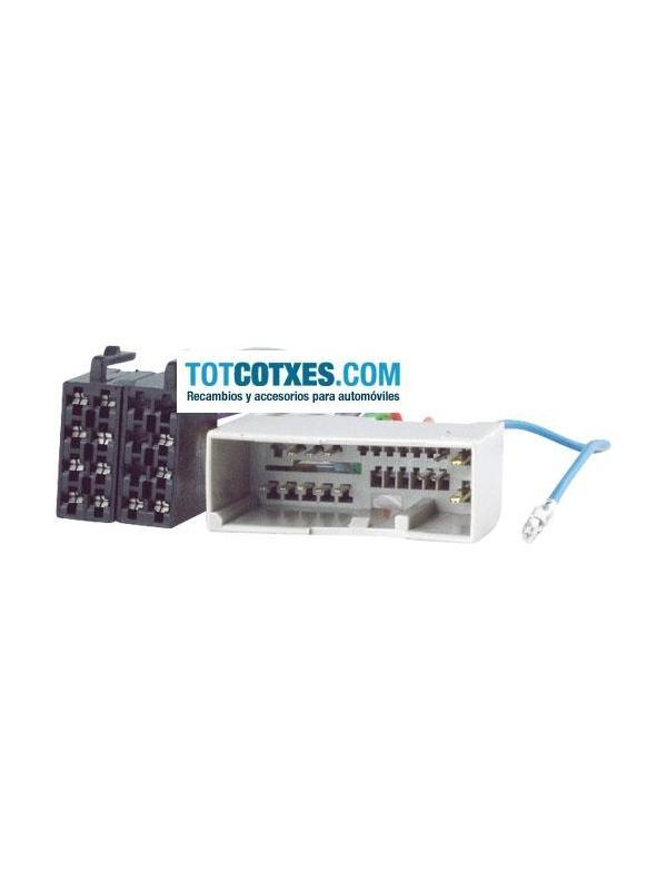 CONECTOR ISO - RADIO  FORD FUSION 2002-> / FIESTA 2002-> / Land Rover Freelander 2005->