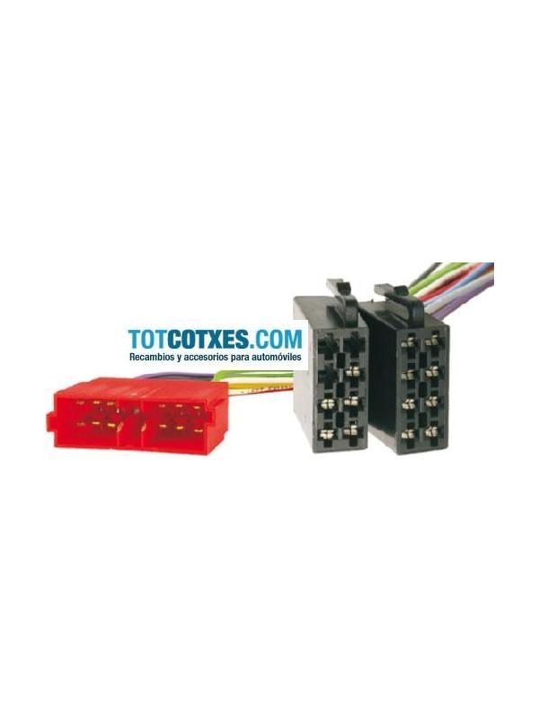 CONECTOR ISO - RADIO  PEUGEOT->1999 / CITROEN->95  - CONECTOR ISO - RADIO  PEUGEOT->1999 / CITROEN->95