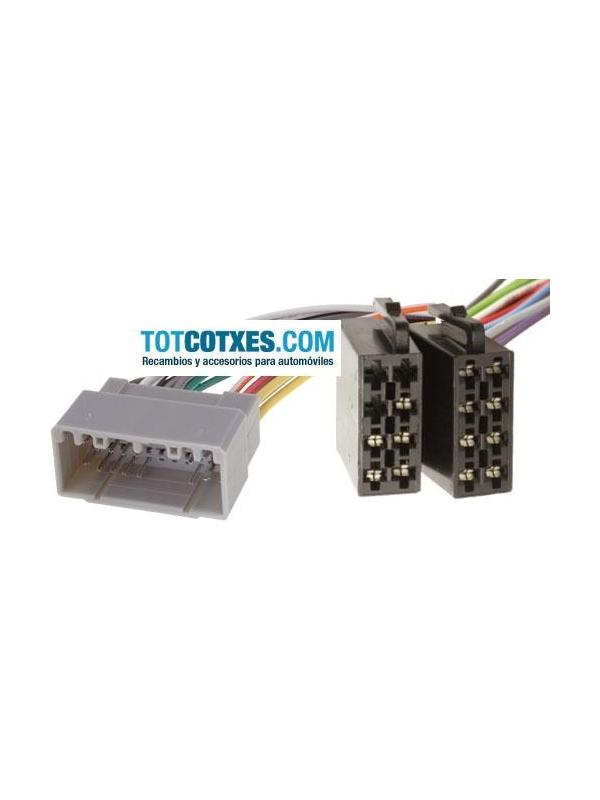 CONECTOR ISO - RADIO  CHRYSLER / JEEP 2001 ->