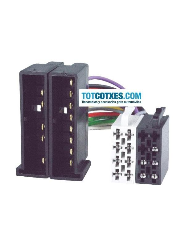 CONECTOR ISO - RADIO  FORD