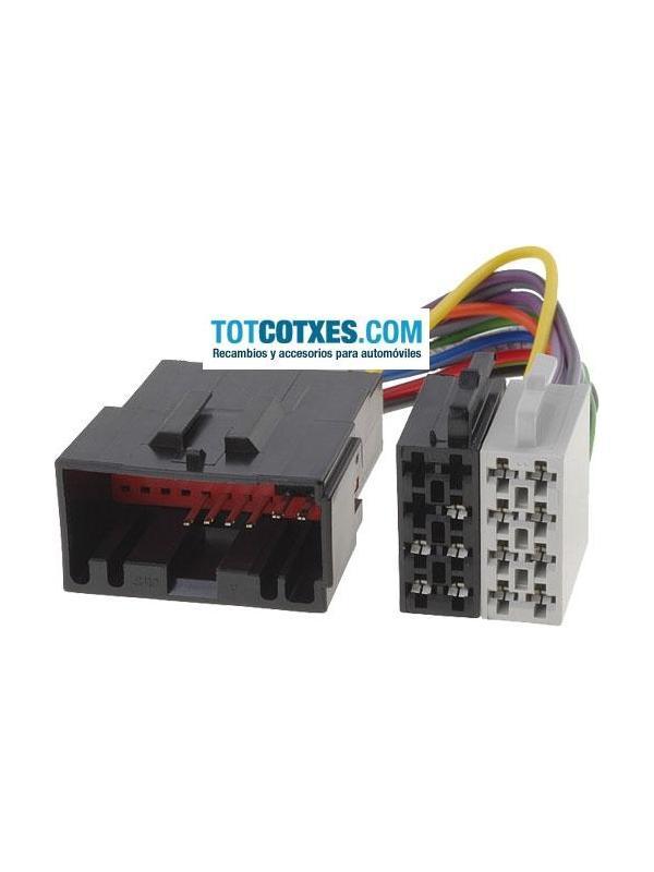 CONECTOR ISO - RADIO  JAGUAR