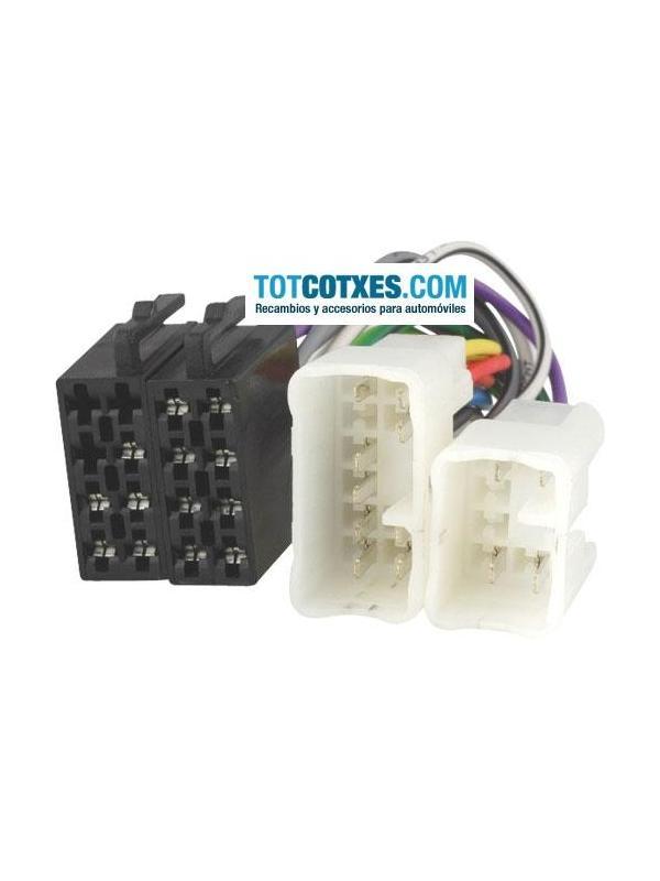 CONECTOR ISO - RADIO  TOYOTA , LEXUS , DAIHATSU , VW TARO