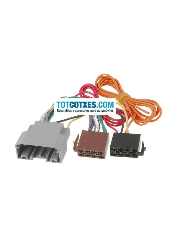 CONECTOR ISO - RADIO CHRYSLER / DODGE / JEEP 2007 -> - CONECTOR ISO - RADIO CHRYSLER / DODGE / JEEP 2007 ->
