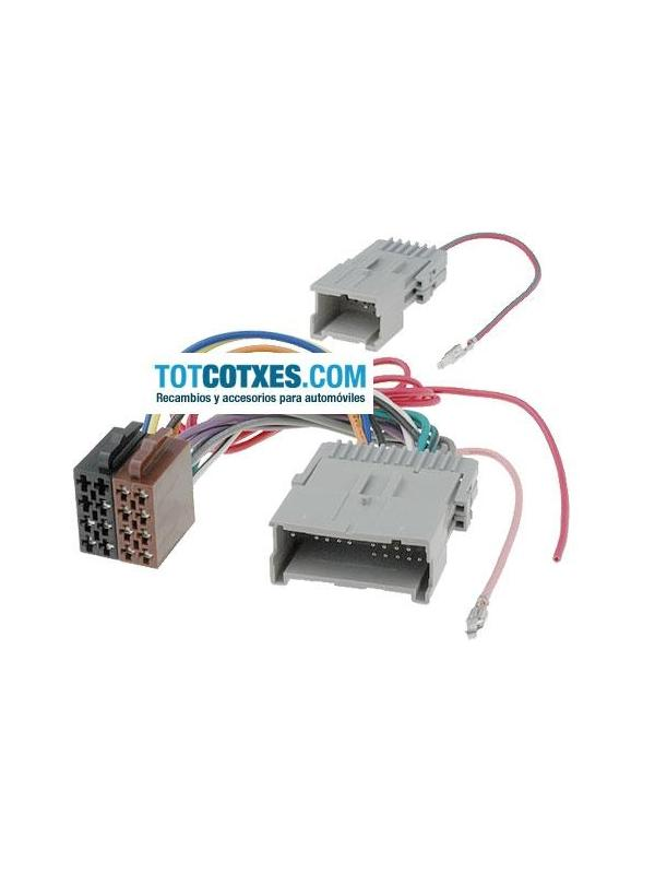 CONECTOR ISO - RADIO HUMMER H3 , H3X , H3 Appha  - CONECTOR ISO - RADIO HUMMER H3 , H3X , H3 Appha