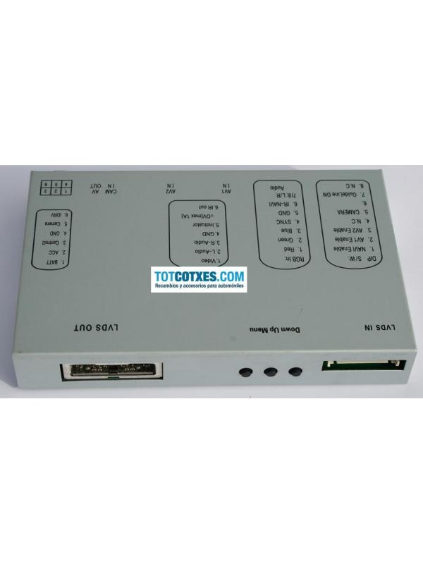INTERFACE MULTIMEDIA AUDI A4 A5 A6 A8 Q7 MMI 2G ref.IM-110 - INTERFACE MULTIMEDIA AUDI A4 A5 A6 A8 Q7 MMI 2G ref.IM-110