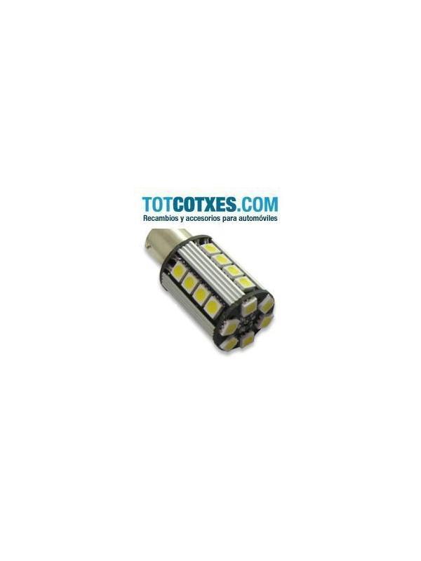 1 bombilla 26 x LED/SMD CANBUS BA15S Yellow / Amarilla ref.ba15s-26-70 - 1 bombilla 26 x LED/SMD CANBUS BA15S Yellow / Amarilla ref.ba15s-26-70