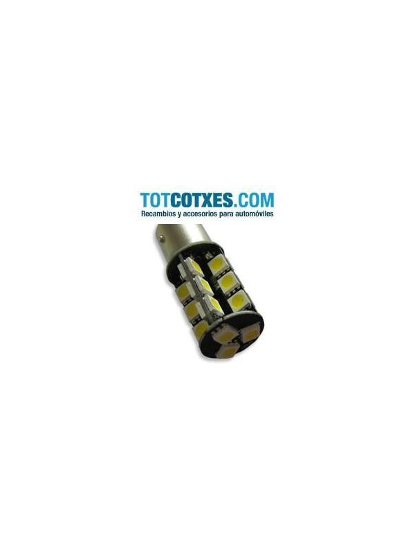 1 bombilla 27 x LED/SMD CANBUS BA15S Yellow / Amarillo ref.ba15s-27-32 - 1 bombilla 27 x LED/SMD CANBUS BA15S Yellow / Amarillo ref.ba15s-27-32