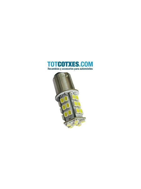 1 bombilla 1157 BAY15D 36 LED SMD1210 doble color blanco/amarillo ref:bay15d-36-65 - 1 bombilla 1157 BAY15D 36 LED SMD1210 doble color blanco/amarillo ref:bay15d-36-65