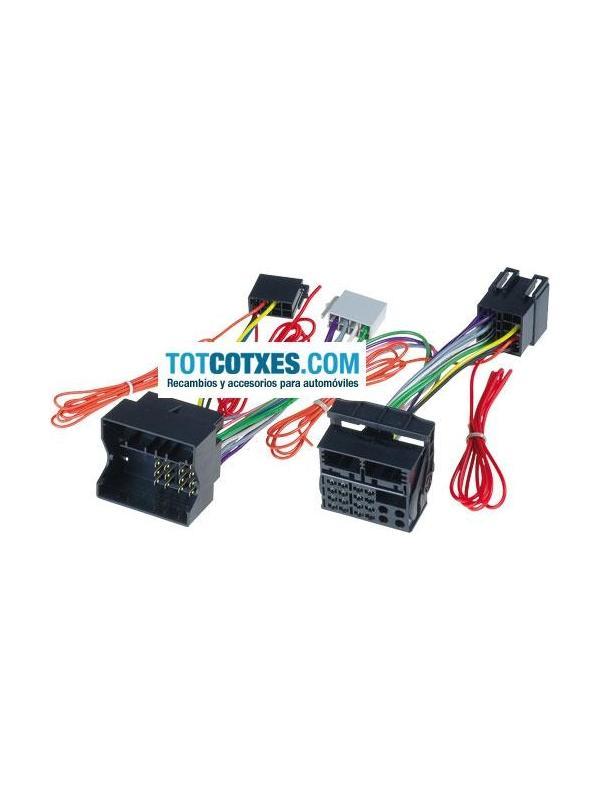 CONECTORES ISO - OEM PARA MANOS LIBRES MERCEDES 2004 > A20