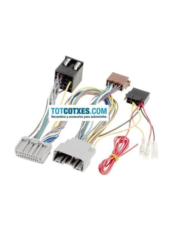 CONECTORES ISO - OEM PARA MANOS LIBRES CHRYSLER / JEEP 2007 >