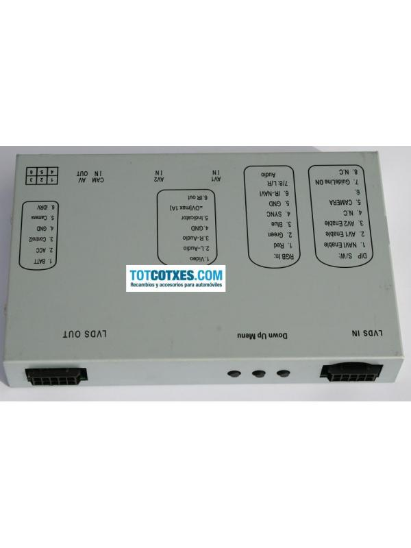 INTERFACE MULTIMEDIA AUDI A4 A5 Q5 2005-2009 ref.IM-120 - INTERFACE MULTIMEDIA AUDI A4 A5 Q5 2005-2009 ref.IM-120
