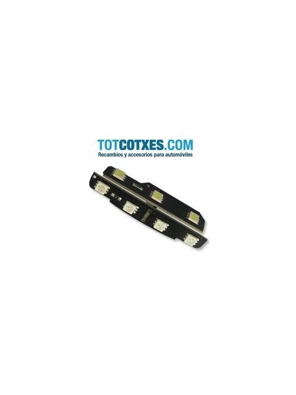 1 bombilla 7 x LED/SMD para Vw Golf blanco/rojo ref.pue-63 - 1 bombilla 7 x LED/SMD para Vw Golf blanco/rojo ref.pue-63