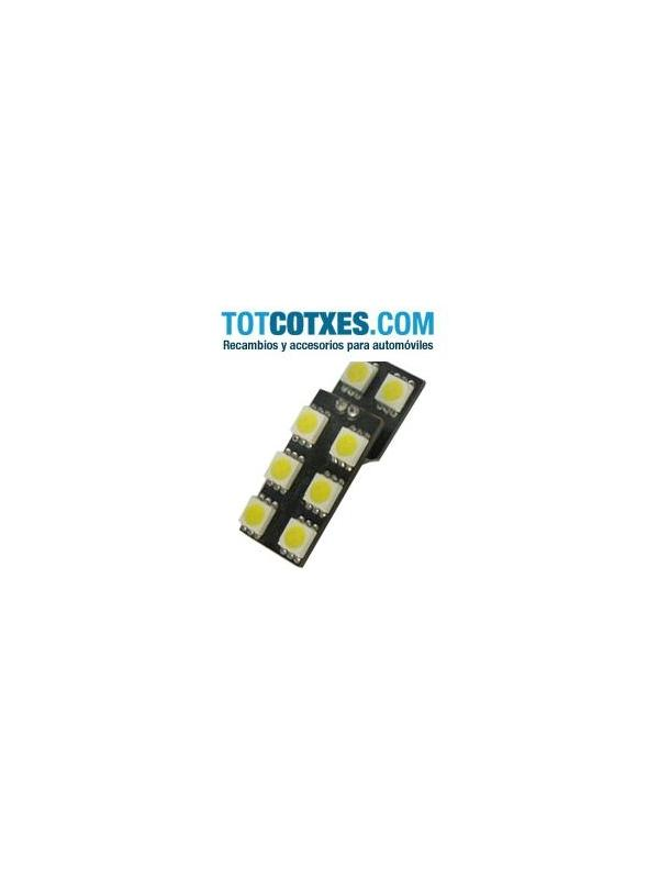 1 bombilla 8 x LED/SMD para puertas Audi/Vw blanco ref.pue-64 - 1 bombilla 8 x LED/SMD para puertas Audi/Vw blanco ref.pue-64