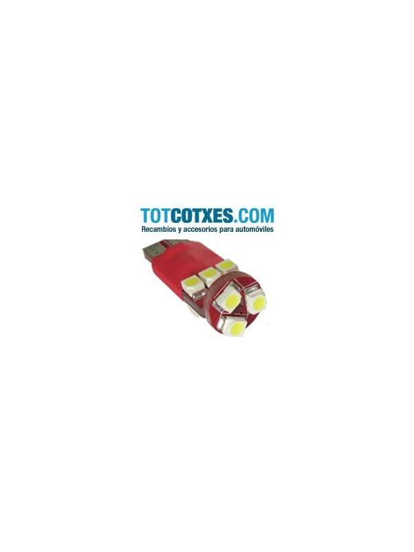 1 bombilla 9 x LED/SMD 1210 CANBUS W5W, T10, 501, 194. White / blanca ( puro blanco ) ref.t10-9-67 - 1 bombilla 9 x LED/SMD 1210 CANBUS W5W, T10, 501, 194. White / blanca ( puro blanco ) ref.t10-9-67
