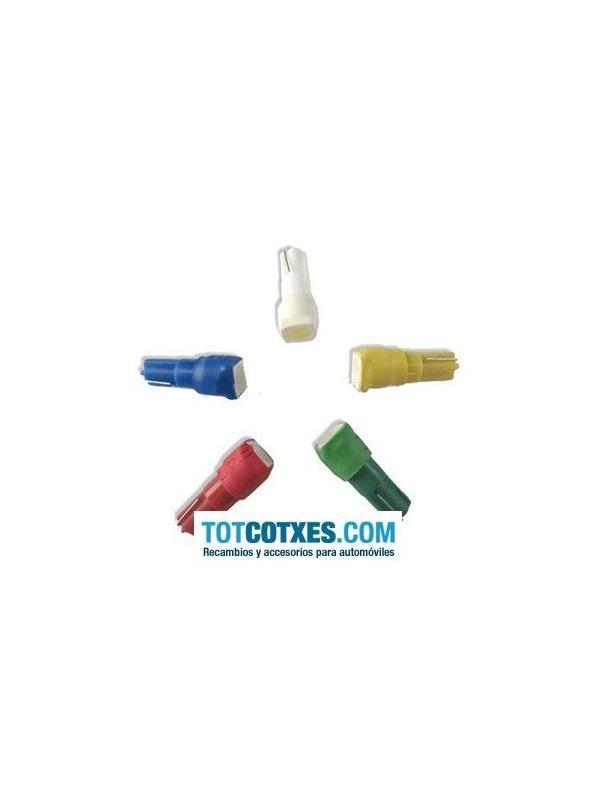 1 bombilla 1 x LED/SMD T5, W1,2W, W2W Yellow / Amarillo ref.t5-1-46