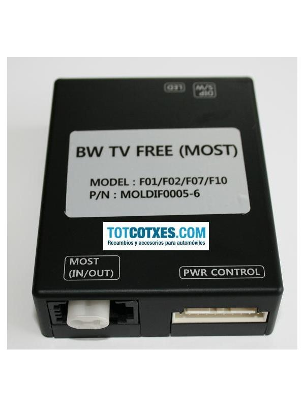 INTERFACE VIDEO ACTIVO TV FREE BMW F01 , F02 , F07 , F10 ref.TV-B10 - INTERFACE VIDEO ACTIVO TV FREE BMW F01 , F02 , F07 , F10 ref.TV-B10