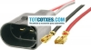 CONECTORES PARA ALTAVOCES VW BEETLE GOLF V TOURAN CPA-09