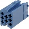 CONECTOR MINI ISO AZUL 8 PINES ref.CV1441-3 - CONECTOR MINI ISO AZUL 8 PINES ref.CV1441-3