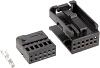 SET CONECTOR MINI QUADLOCK NEGRO Y PINES ref.SET0300 - SET CONECTOR MINI QUADLOCK NEGRO Y PINES ref.SET0300
